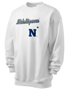 United States Naval Academy Midshipmen Men's 7.8 oz Lightweight Crewneck Sweatshirt