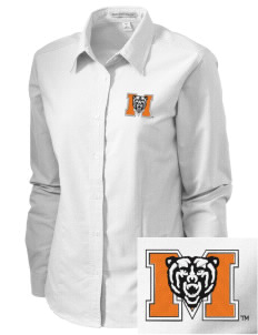 Mercer University Bears Embroidered Women's Classic Oxford