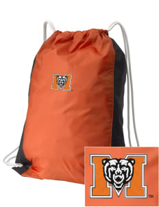 Mercer University Bears Embroidered Holloway Home and Away Cinch Bag