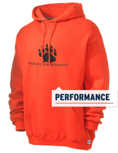 Mercer University Bears Russell Men's Dri-Power Hooded Sweatshirt