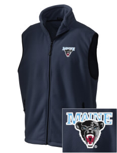 University of Maine Black Bears Embroidered Unisex Wintercept Fleece Vest