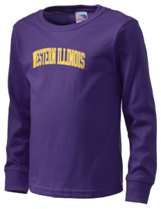Western Illinois University Leathernecks  Kid's Long Sleeve T-Shirt