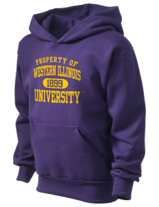Western Illinois University Leathernecks Kid's Hooded Sweatshirt