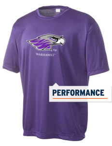 University of Wisconsin-Whitewater Warhawks Men's Competitor Performance T-Shirt