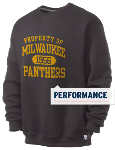 University of Wisconsin-Milwaukee Panthers  Russell Men's Dri-Power Crewneck Sweatshirt