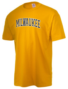 University of Wisconsin-Milwaukee Panthers  Russell Men's NuBlend T-Shirt
