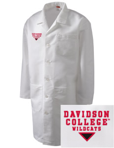 Davidson College Wildcats Full-Length Lab Coat