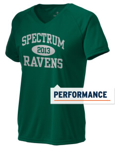 Spectrum Community School Ravens Holloway Women's Zoom Performance T-Shirt