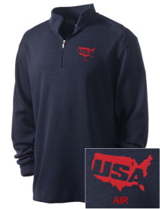 Air National Guard Embroidered Nike Men's Golf Heather Cover Up