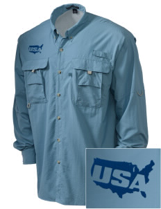Connecticut Air National Guard Embroidered Men's Explorer Shirt with Pockets