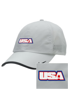 Connecticut Air National Guard Embroidered Nike Dri-FIT Swoosh Perforated Cap