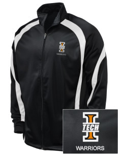 Indiana Tech Warriors Embroidered Holloway Men's Tricotex Warm Up Jacket