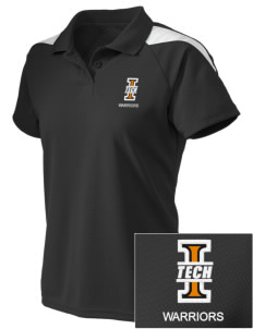 Indiana Tech Warriors Embroidered Holloway Women's Frequency Performance Polo