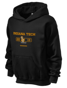 Indiana Tech Warriors Holloway Kid's 50/50 Hooded Sweatshirt