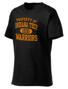 Indiana Tech Warriors Kid's Lightweight T-Shirt