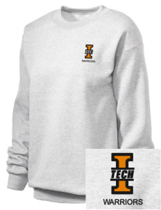 Indiana Tech Warriors Embroidered Unisex Crewneck Sweatshirt