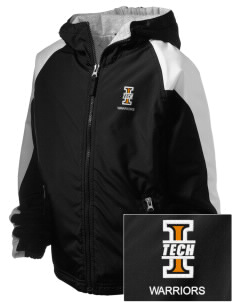 Indiana Tech Warriors Embroidered Holloway Kids Homefield Zip Front Jacket
