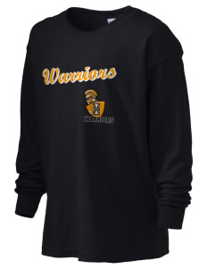 Indiana Tech Warriors Kid's 6.1 oz Long Sleeve Ultra Cotton T-Shirt