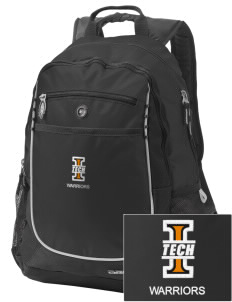 Indiana Tech Warriors Embroidered OGIO Carbon Backpack