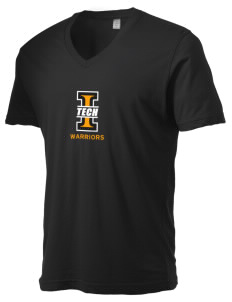 Indiana Tech Warriors Alternative Men's 3.7 oz Basic V-Neck T-Shirt