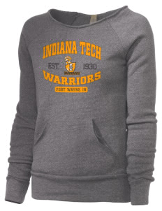 Indiana Tech Warriors Alternative Women's Maniac Sweatshirt
