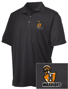 Indiana Tech Warriors Embroidered Men's Double Mesh Polo