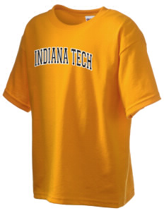 Indiana Tech Warriors Kid's 6.1 oz Ultra Cotton T-Shirt