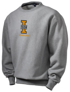 Indiana Tech Warriors Men's Heavyweight Crewneck Sweatshirt