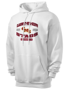 Claremont-Mudd-Scripps Men's Athletics Stags Men's 7.8 oz Lightweight Hooded Sweatshirt