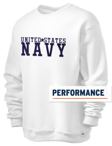 U.S. Navy  Russell Men's Dri-Power Crewneck Sweatshirt