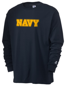 U.S. Navy  Russell Men's Long Sleeve T-Shirt