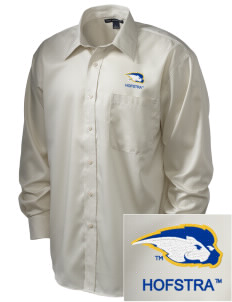 Hofstra University Pride  Embroidered Men's Long Sleeve Non-Iron Twill Shirt