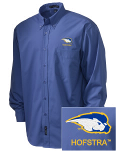 Hofstra University Pride  Embroidered Men's Easy Care, Soil Resistant Shirt