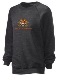 Idaho State University Bengals Unisex Alternative Eco-Fleece Raglan Sweatshirt