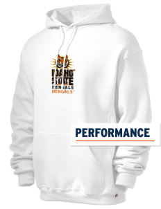Idaho State University Bengals Russell Men's Dri-Power Hooded Sweatshirt