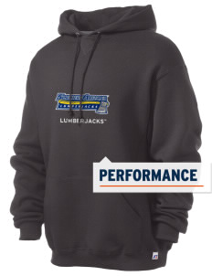 Northern Arizona University Lumberjacks Russell Men's Dri-Power Hooded Sweatshirt