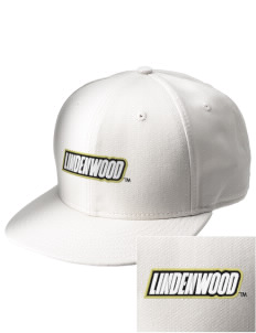 Lindenwood University Lions  Embroidered New Era Flat Bill Snapback Cap