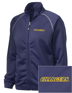 University of New Haven Chargers Embroidered Holloway Women's Attitude Warmup Jacket