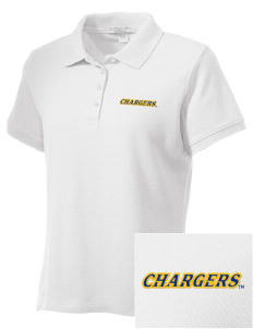 University of New Haven Chargers Embroidered Women's Performance Plus Pique Polo