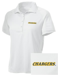 University of New Haven Chargers Embroidered Women's Polytech Mesh Insert Polo