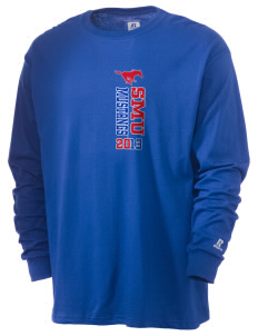Southern Methodist University Mustangs  Russell Men's Long Sleeve T-Shirt