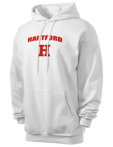 University of Hartford Hawks Men's 7.8 oz Lightweight Hooded Sweatshirt