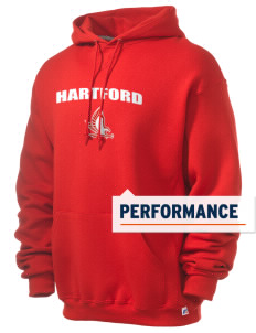 University of Hartford Hawks Russell Men's Dri-Power Hooded Sweatshirt