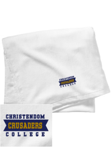 Christendom College Crusaders Embroidered Beach Towel