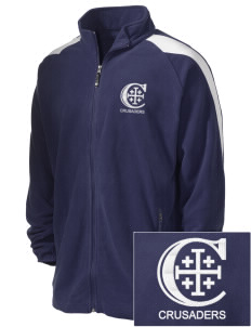 Christendom College Crusaders Embroidered Holloway Men's Flash Warmup Fleece Jacket