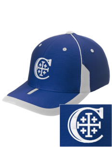Christendom College Crusaders Embroidered M2 Universal Fitted Contrast Cap