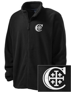 Christendom College Crusaders Embroidered Men's Wintercept Fleece Full-Zip Jacket