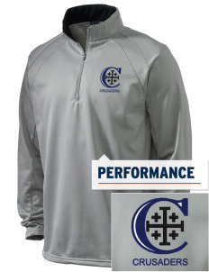 Christendom College Crusaders Embroidered Men's 1/4-Zip Performance Fleece