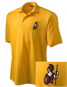 Claremont-Mudd-Scripps Women's Athletics Athenas Embroidered Men's Jersey Polo