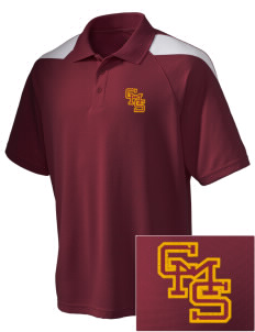Claremont-Mudd-Scripps Women's Athletics Athenas Embroidered Holloway Men's Frequency Performance Pique Polo